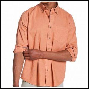 COMING SOON Tailor Vintage Linen Blend Button Down